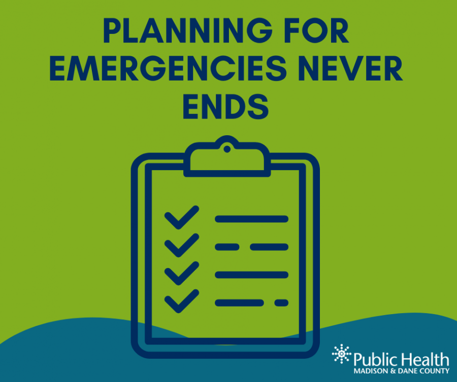 Planning for emergencies never ends