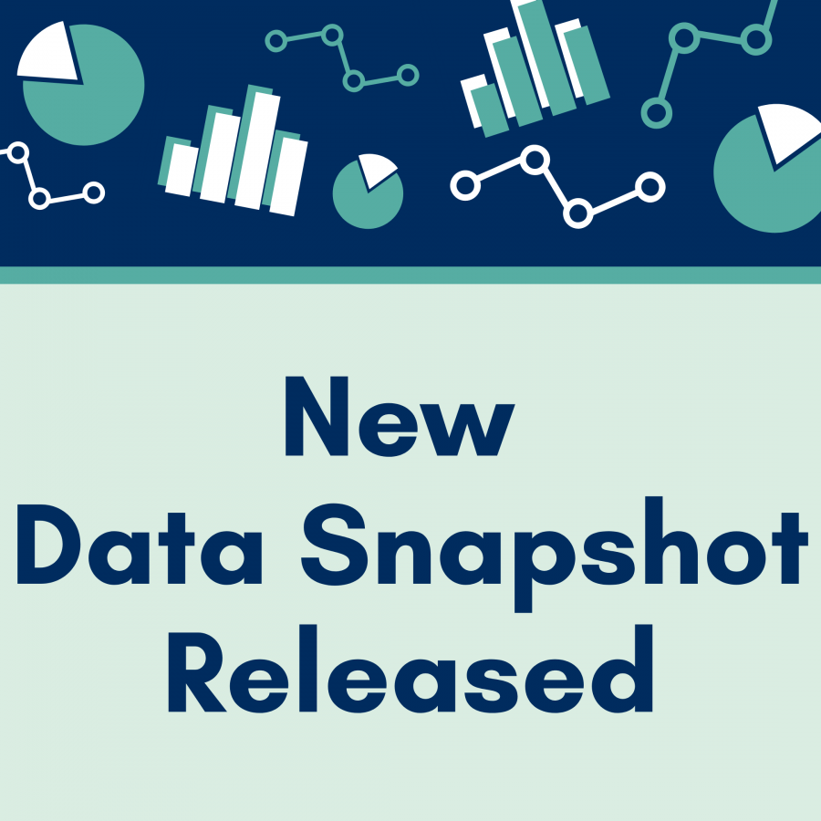 New data snapshot released, with icons of different chart types