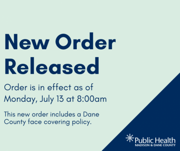 """A graphic that says """"New Order Released"""""""