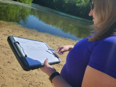Water testing and beach monitoring