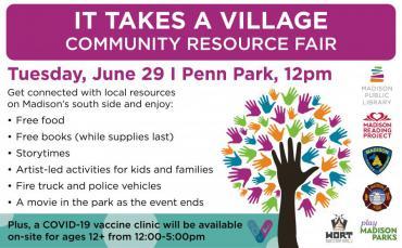 It Takes A Village Community Resource Fair